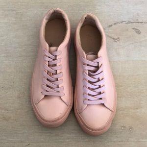 Zara pink sneakers